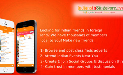 IndiansInSG – #1 Live Chat Events Free Classifieds