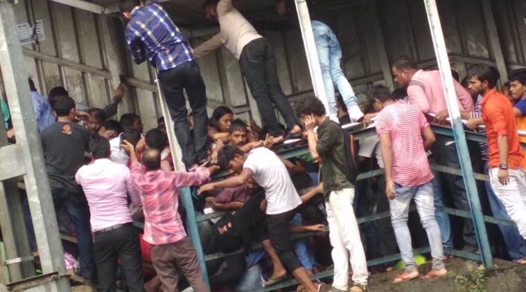 Mumbai railway station stampede kills 22 amid heavy rain
