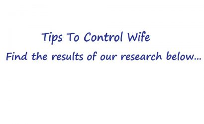 Tips to Control Wife